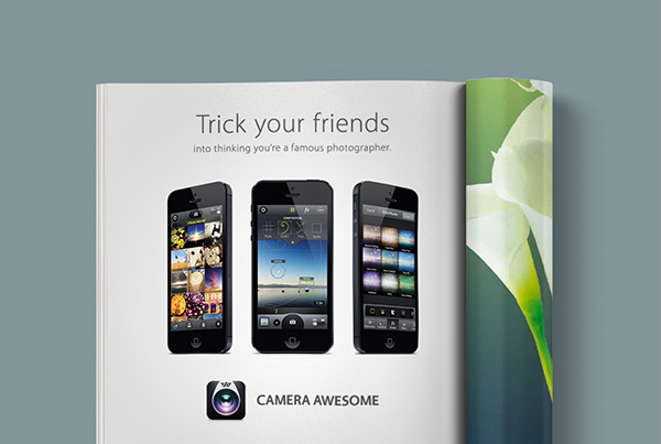 Camera Awesome Print Ad